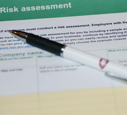 First Aid Risk Assessment Form