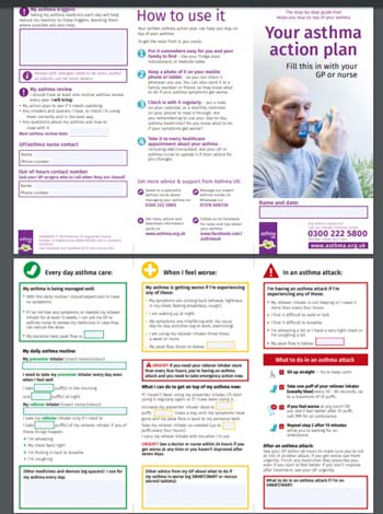 Adult Asthma Plan