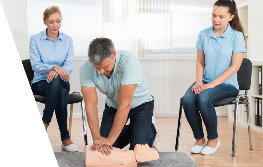 First Aid Training In-House session